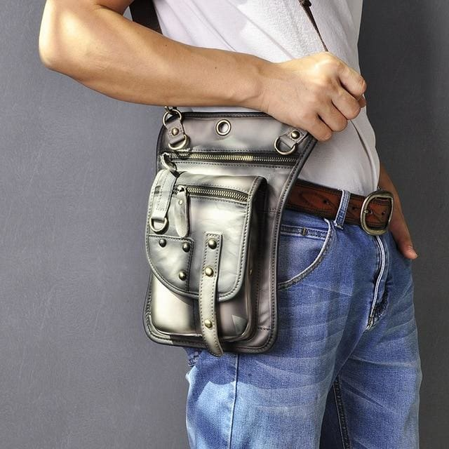 Men travel shoulder crossbody messenger bag - L-A - Men_Briefcase