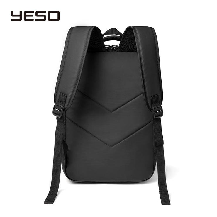 Mens laptop backpack with USB charging waterproof - Backpacp_Oct