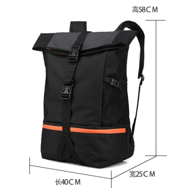 Mens Motorcycle Waterproof Backpack - Backpacp_Oct