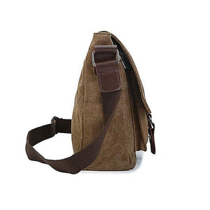 Mens vintage canvas crossbody bag - Backpacp_Oct