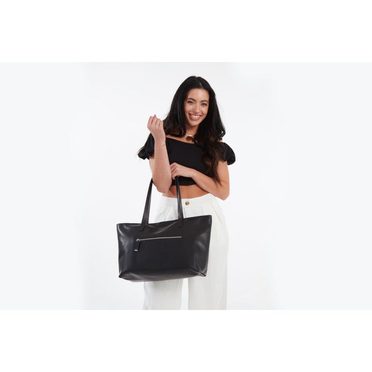 Mid Zip Tote - Canvas_Tote_2020