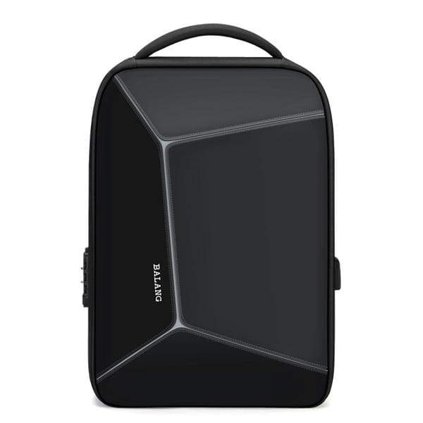 Multi-function anti theft backpack waterproof - black / 15 Inches - Backpacp_Oct