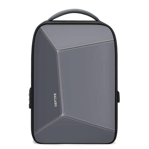 Multi-function anti theft backpack waterproof - gray / 15 Inches - Backpacp_Oct