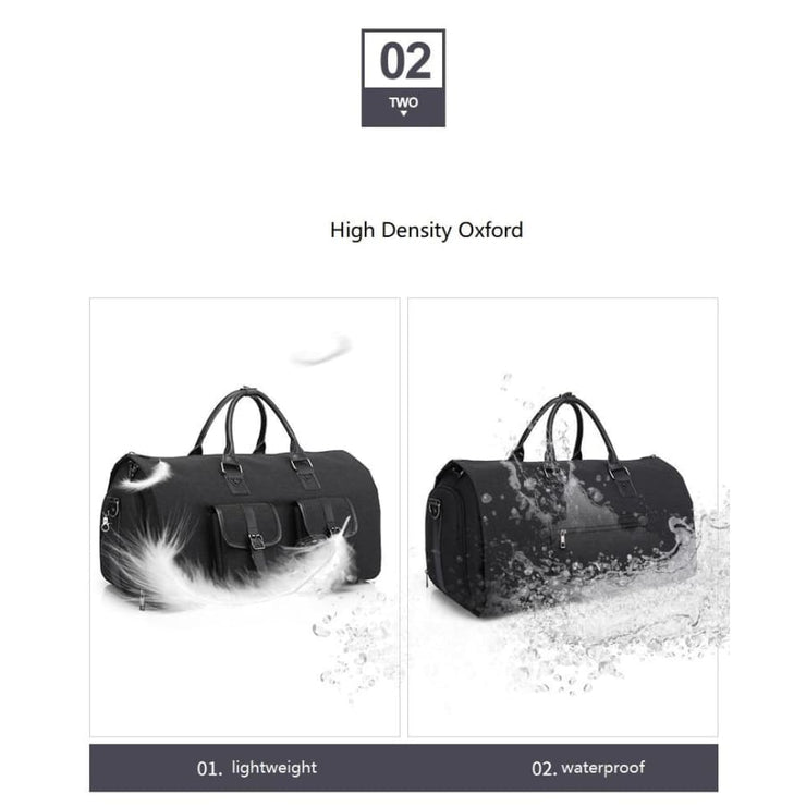Multifunctional Men Duffle Bag - Men_Briefcase