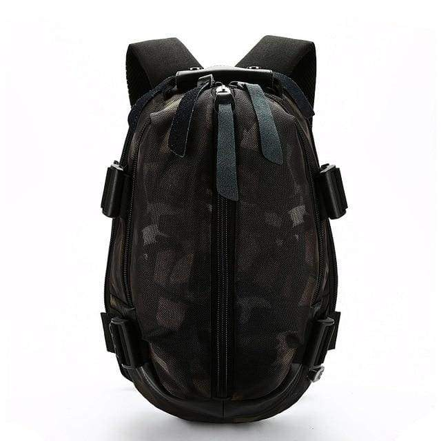 Oxford Waterproof Backpack - Camouflage / 16inch(32x16x49cm)