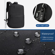 Backpack Waterproof Oxford Men Backpacks USB