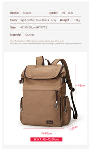 Backpack Large Capacity men Male Luggage bag