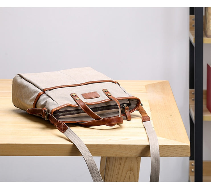 Canvas bag casual Japanese-style oblique cross bag
