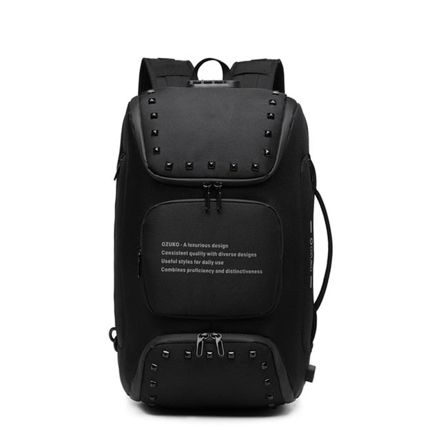 Backpack Fashion USB 15.6 Inch Laptop Backpacks Travel