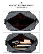 Waterproof Shoulder Bags Large Capacity Business Casual