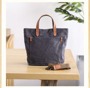 Canvas bag casual art handbag