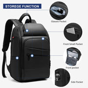 Backpack for Men Multi-function Waterproof USB Charging Backpacks