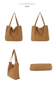 Large-Capacity canvas bag wild