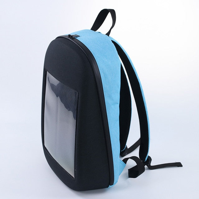 LED Display Screen Dynamic Backpack Outdoor