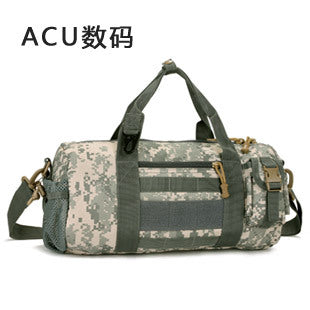 Nylon waterproof bucket-shaped messenger bag
