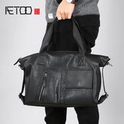 Original handbag leather men bag handmade business bag