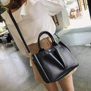 Retro style Women's Leather Shoulder Bags With - Canvas_Tote_2020