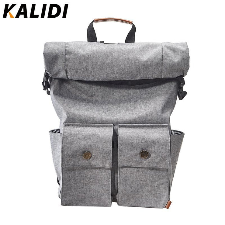 Roll-top closure laptop backpack rucksack - Backpacp_Oct