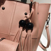 Tassel shoulder bags 3pcs - Women_Bags