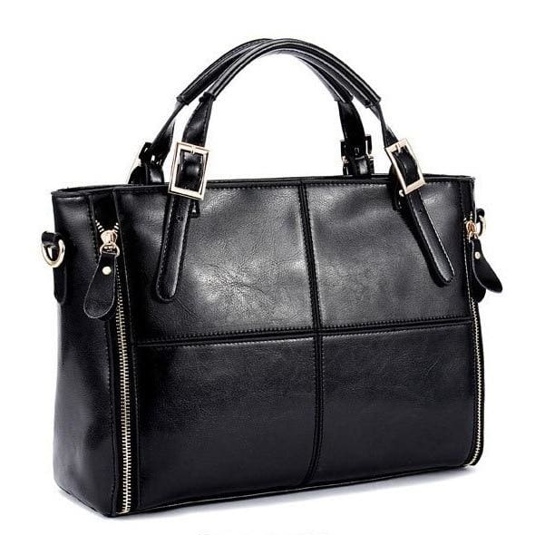 Top-handle shoulder bags - Black - Women_Bags