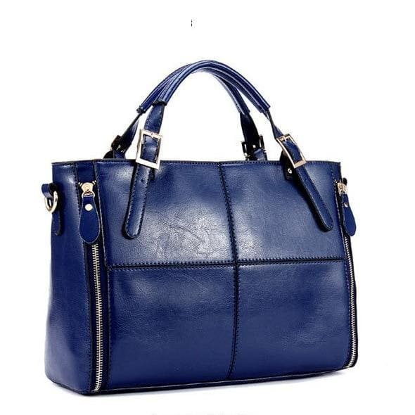 Top-handle shoulder bags - Blue - Women_Bags