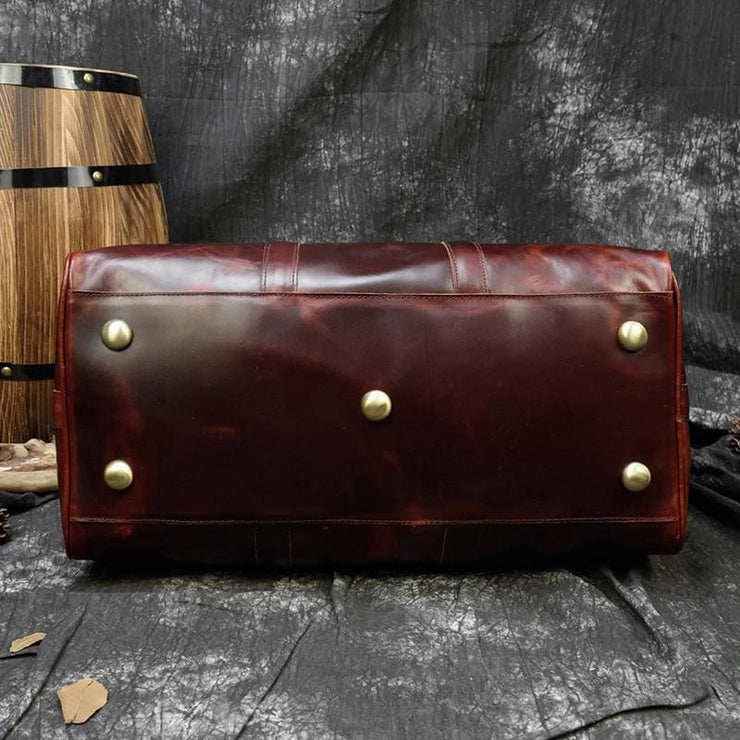 Travel bag durable crazy horse leather - Men_Briefcase