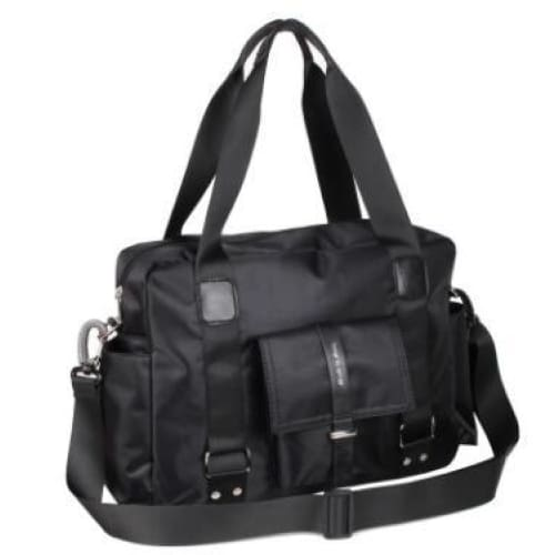 Travel bag luggage unisex - black - Canvas_Tote_2020