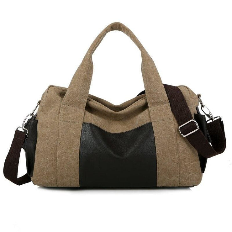 Travel Bag Vintage Large Capacity Weekend Bags - 02 - Canvas_Tote_2020