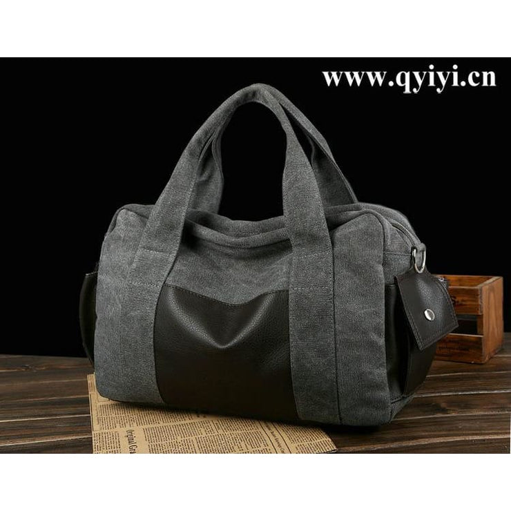 Travel Bag Vintage Large Capacity Weekend Bags - 05 - Canvas_Tote_2020