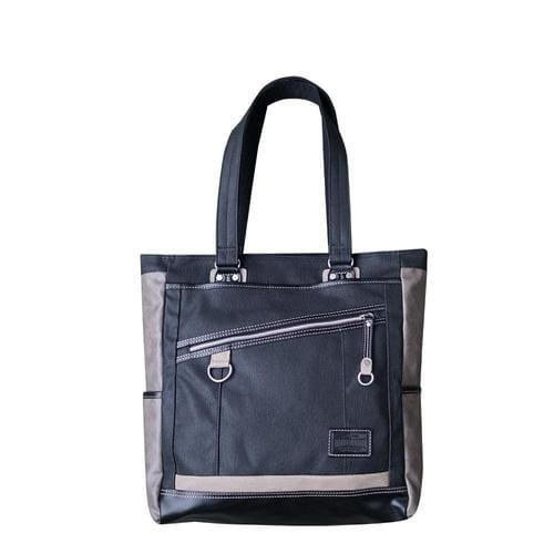 VANTAGE TOTE BAG - Black - Canvas_Tote_2020