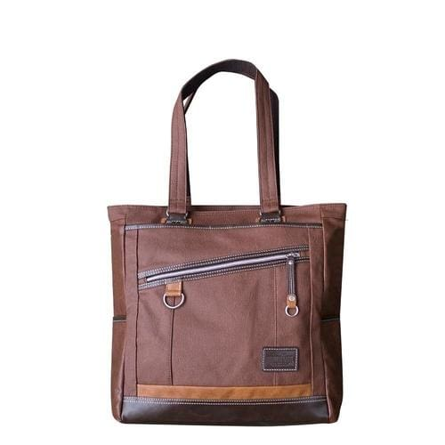 VANTAGE TOTE BAG - Brown - Canvas_Tote_2020