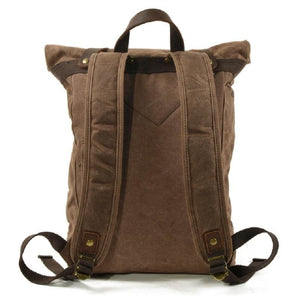 Vintage canvas backpacks waterproof - Backpacp_Oct