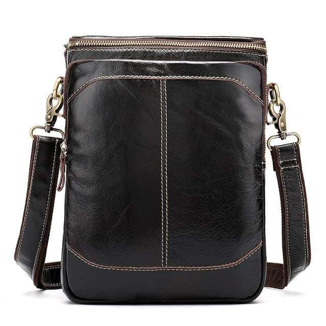 WESTAL Leather Casual Crossbody Bags - 8003ceepcoffee / CHINA