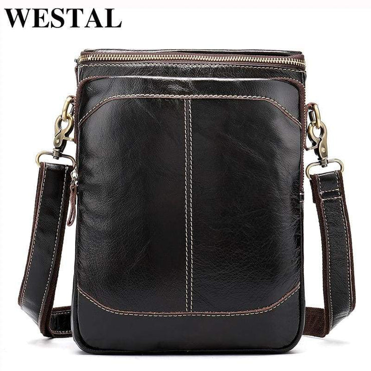 WESTAL Leather Casual Crossbody Bags