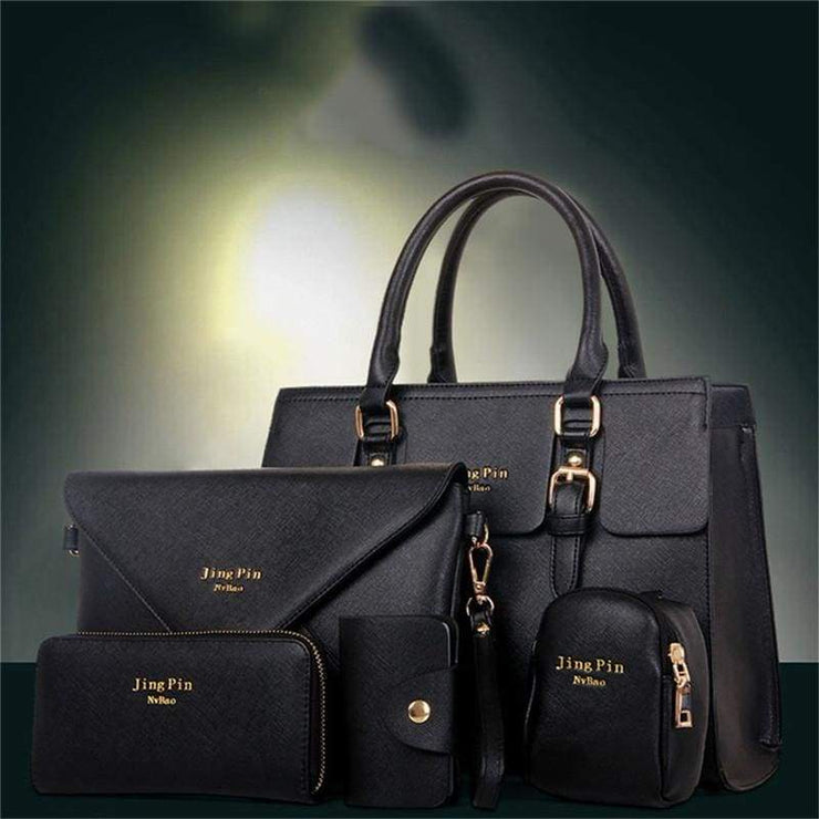 Women 5 Piece/set Handbag Purse Set