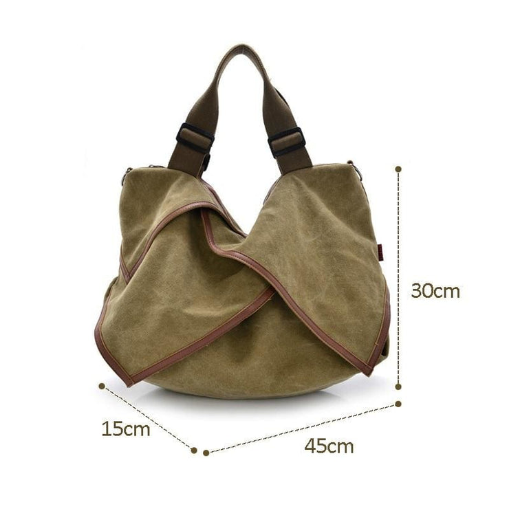 Women bag Canvas Tote crossbody - Canvas_Tote_2020