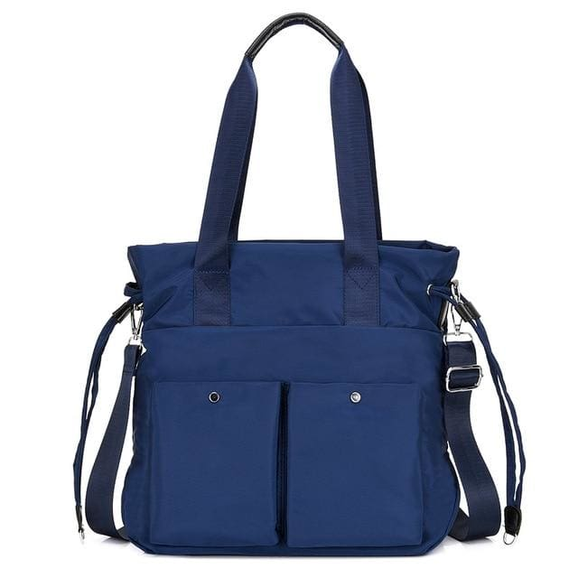 Women crossbody bags nylon tote - Deep Blue - Canvas_Tote_2020