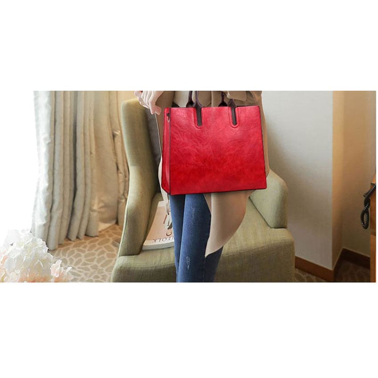Women large capacity vintage hand Top-Handle - Women_Bags