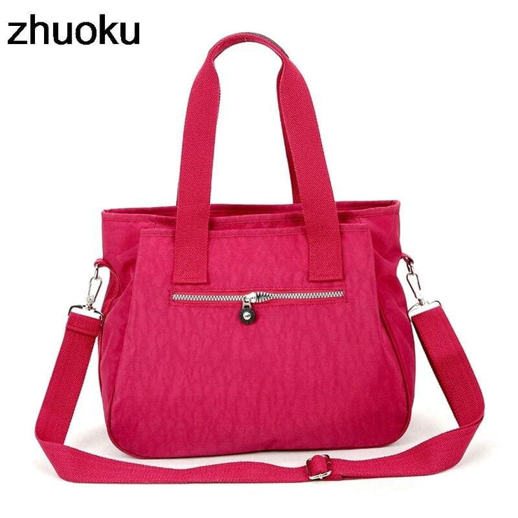 Women nylon handbag crossbody - Canvas_Tote_2020