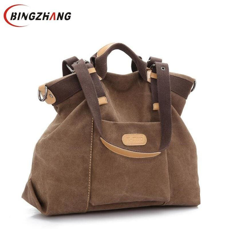 Women shoulder canvas Bag tote - Canvas_Tote_2020