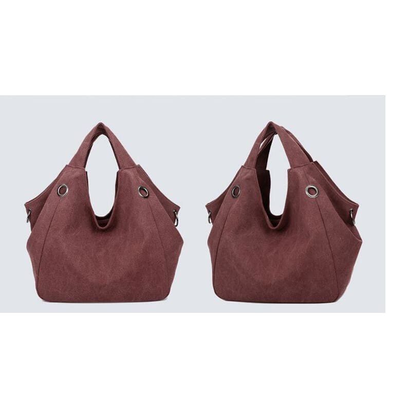 Women solid shoulder bag canvas - Canvas_Tote_2020