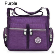 Women top-handle shoulder bag - Purple - Canvas_Tote_2020