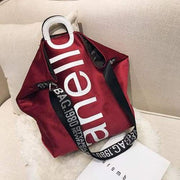 Womens handbag velvet tote - Red - Women_Bags
