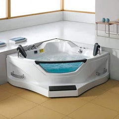 Mesa BT-084 Whirlpool Air Two Person Corner Tub