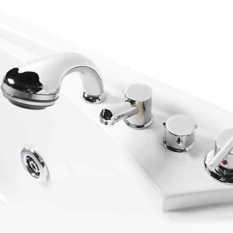 Mesa BT-150150 Two Person Whirlpool Tub Dials