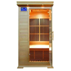 "SunRay Barrett 1-2 Person Infrared Sauna 36"" x 42"" x 75"" HL100C"