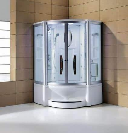 "Mesa 600A Steam Shower 55""L x 55""W x 87""H - Houux"