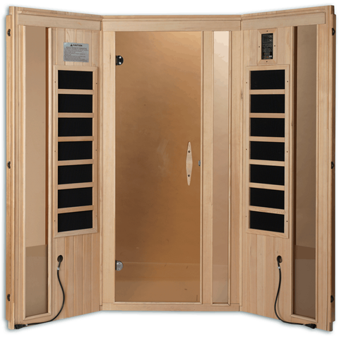 Golden Designs 3 Person Near Zero EMF Far IR Sauna GDI-6365-01 - Houux