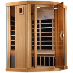 Golden Designs 3 Person Near Zero EMF Far IR Sauna GDI-6365-01