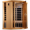 Image of Golden Designs 3 Person Near Zero EMF Far IR Sauna GDI-6365-01 - Houux